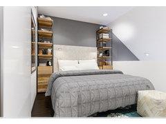 Simple to Modern Bedroom & Bathroom Rendering thumb