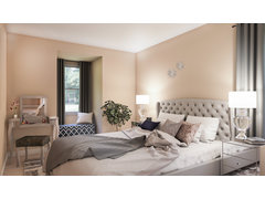 Comfy and Glam Guest Room Rendering thumb