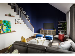 Transitional Eclectic Home Transformation Rendering thumb