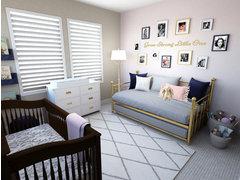 Girl Nursery Room Rendering thumb