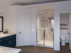 Navy Elegant Master Bedroom Rendering thumb