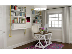 Transitional Home Office Rendering thumb