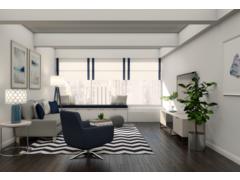 Modern Living, Entry, and Kids Room Design Rendering thumb