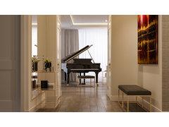 Sharp and Elegant Hallway Entry Design Rendering thumb