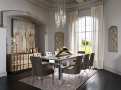Glam Modern Home Transformation Rendering thumb