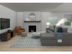 New Build Transitional Home Rendering thumb