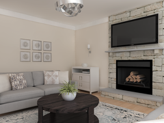 Neutral Transitional Living Space Rendering thumb