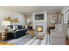 Beautiful traditional living room Rendering thumb