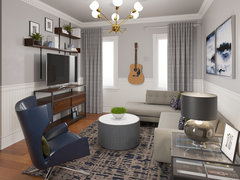 Nice Modern Sphisticated Rooms Transformation Rendering thumb