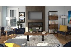 Cozy Living Room   Rendering thumb
