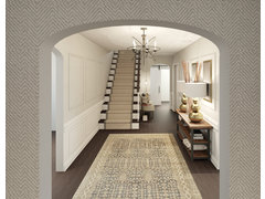 Elegant and Contemporary Entryway Rendering thumb