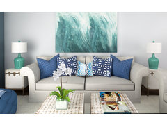Beach Living Room Rendering thumb