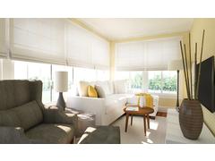 Transitional Living & Dining Room Rendering thumb
