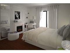 Chic Master Bedroom Rendering thumb