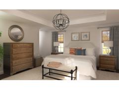 Cendys Modern Lodge Master Bedroom Rendering thumb