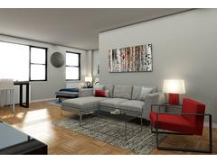 Stylish living room Rendering thumb