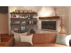 Ericas Mid Century Living Room Rendering thumb