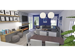 Beautiful and Colorful Home  Rendering thumb