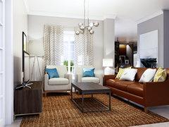 Comfy & Rustic Home Design Rendering thumb