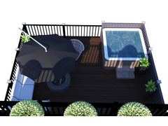 Warm Contemporary Full Home Design Rendering thumb