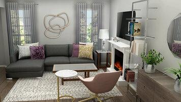 Interior design sample by Ani K.