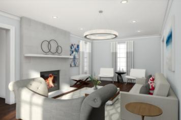Interior design sample by Picharat A.