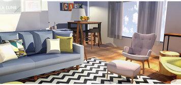 Interior design sample by laura d for Laurea interior design online