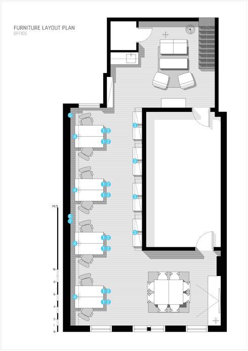 Online Designer Business/Office Floorplan