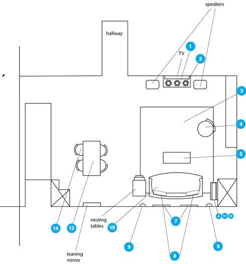 Online Designer Studio Floorplan