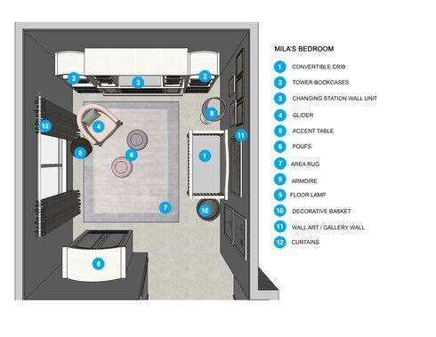 Online Designer Kids Room Floorplan