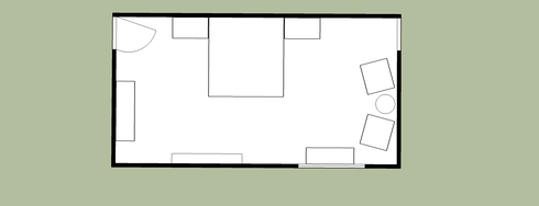 Online Designer Bedroom Floorplan