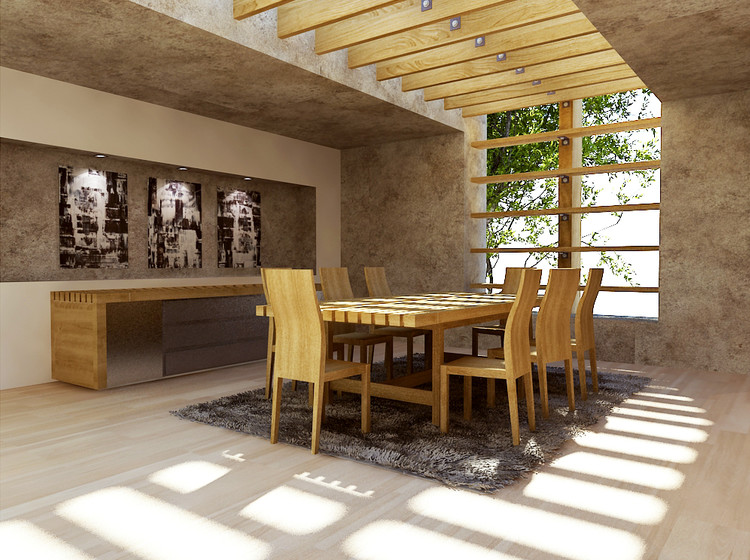 interior design sample by andrew z