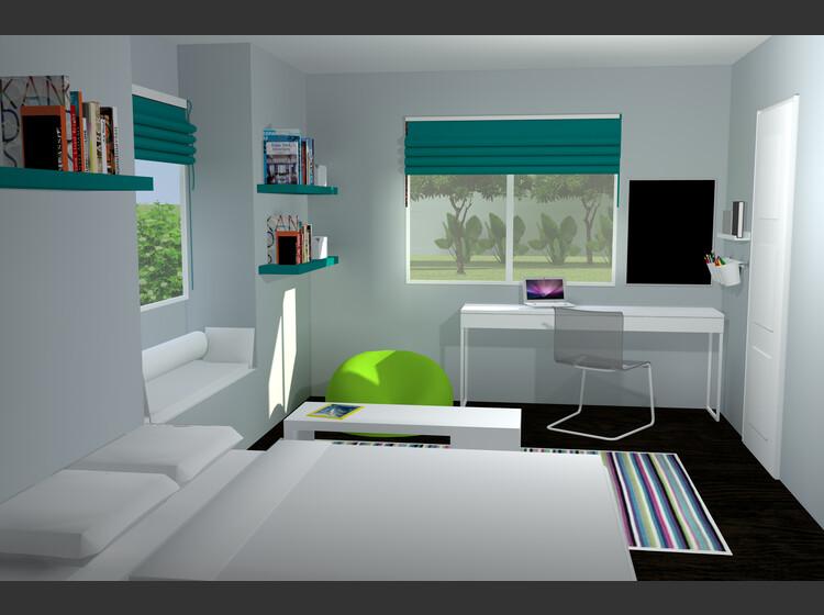 interior design sample by inga k