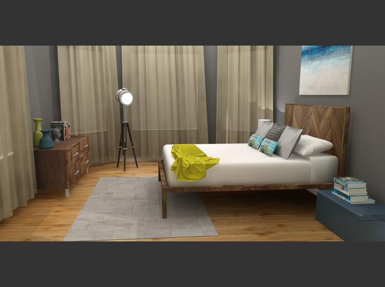 interior design sample by nazila k
