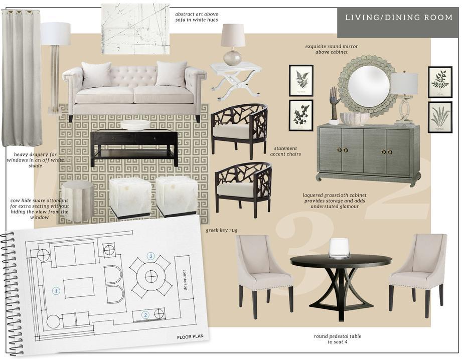 Online Designer Living Room Moodboard Part 83