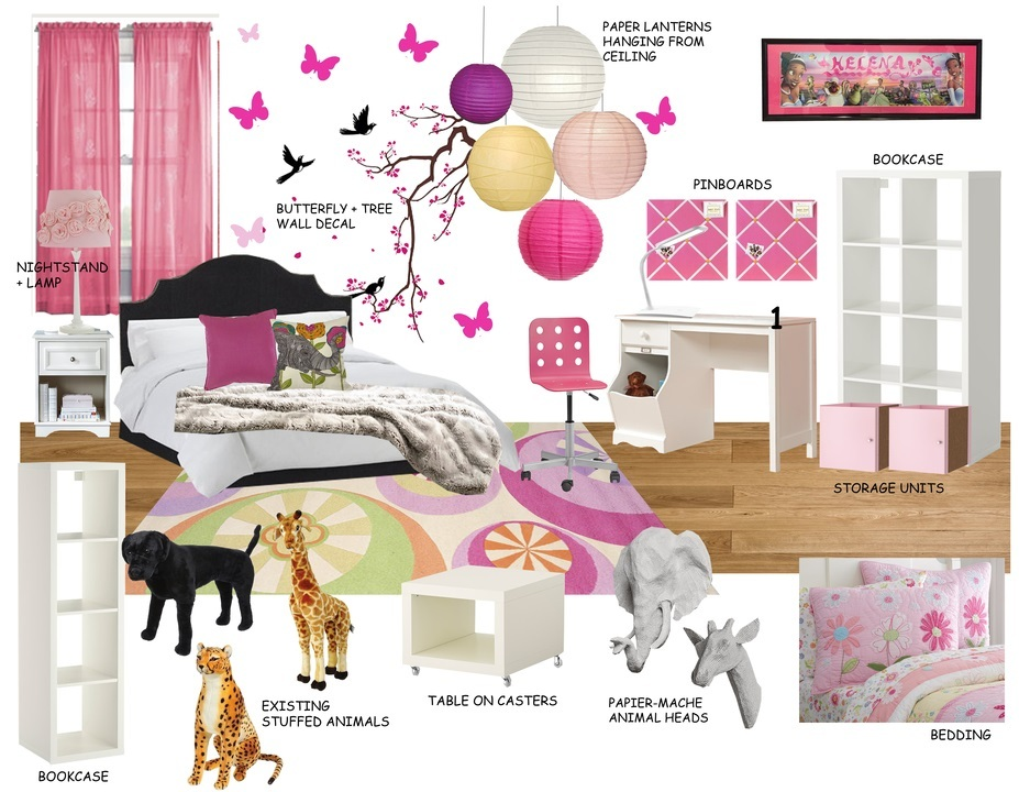 Online Designer Kids Room Moodboard Part 35