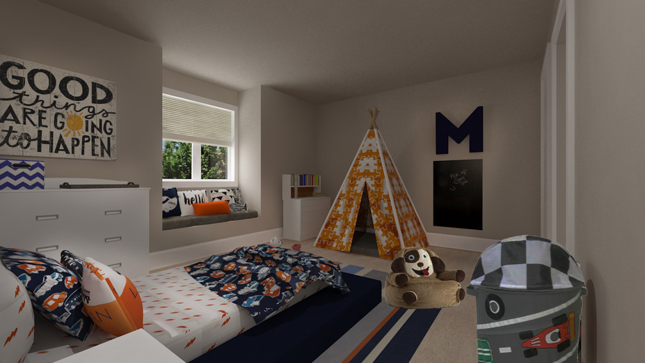Online Designer Kids Room 3D Model