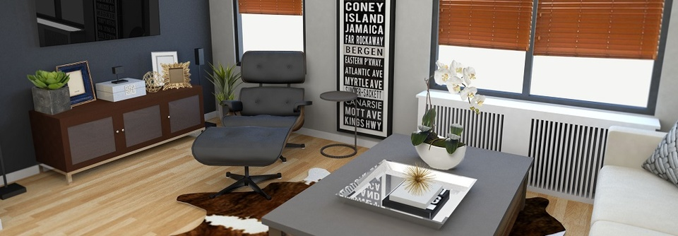 Charmant Decorilla Modern Rustic Living Room Design Online. Decorilla 3D Rendering  By Rachel H. View More At Decorilla.com
