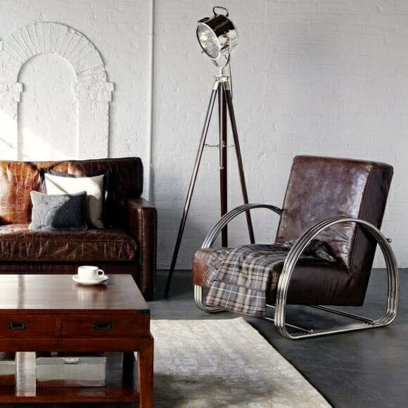 How to balance your masculine and feminine decor - Deco salon vintage ...