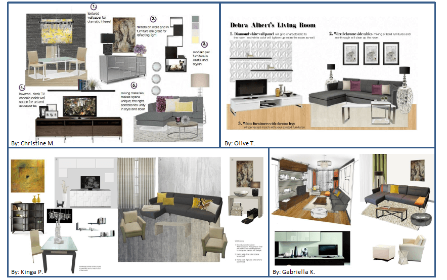 how debra saved 1 600 on her new designer living room. Black Bedroom Furniture Sets. Home Design Ideas