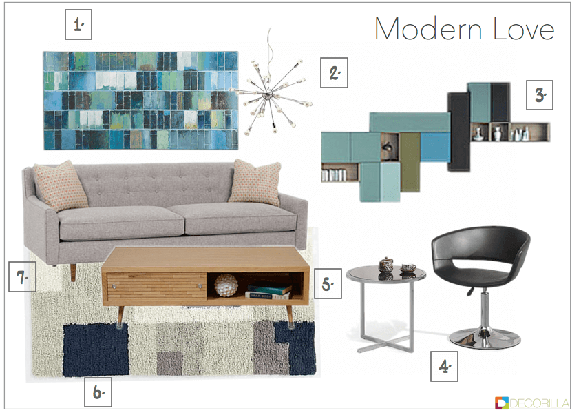 Modern style living room essentials modern living room for Living room essentials