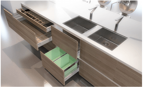 Contemporary Online Kitchen Design