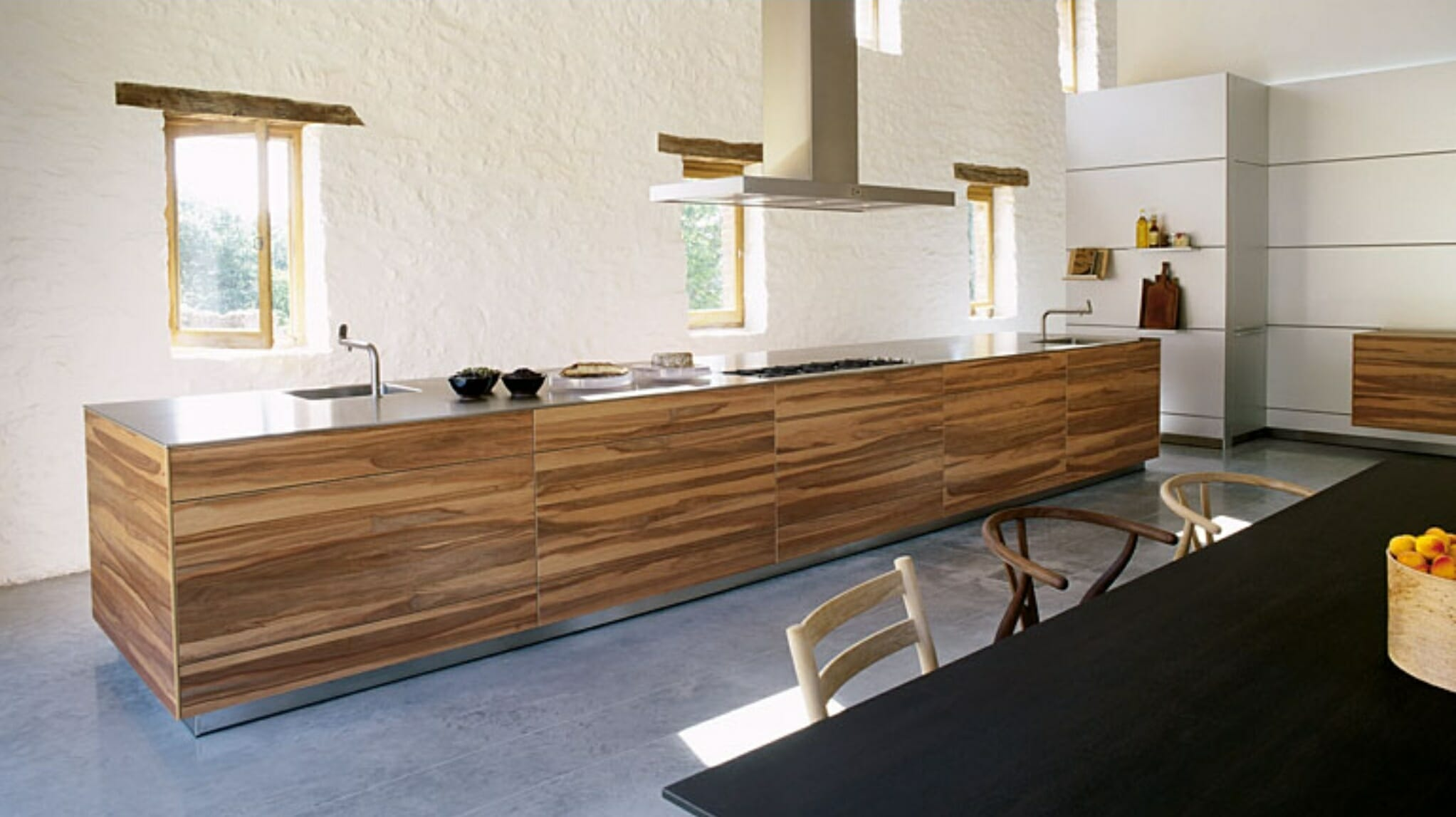 How to Design a Sleek Contemporary Kitchen line