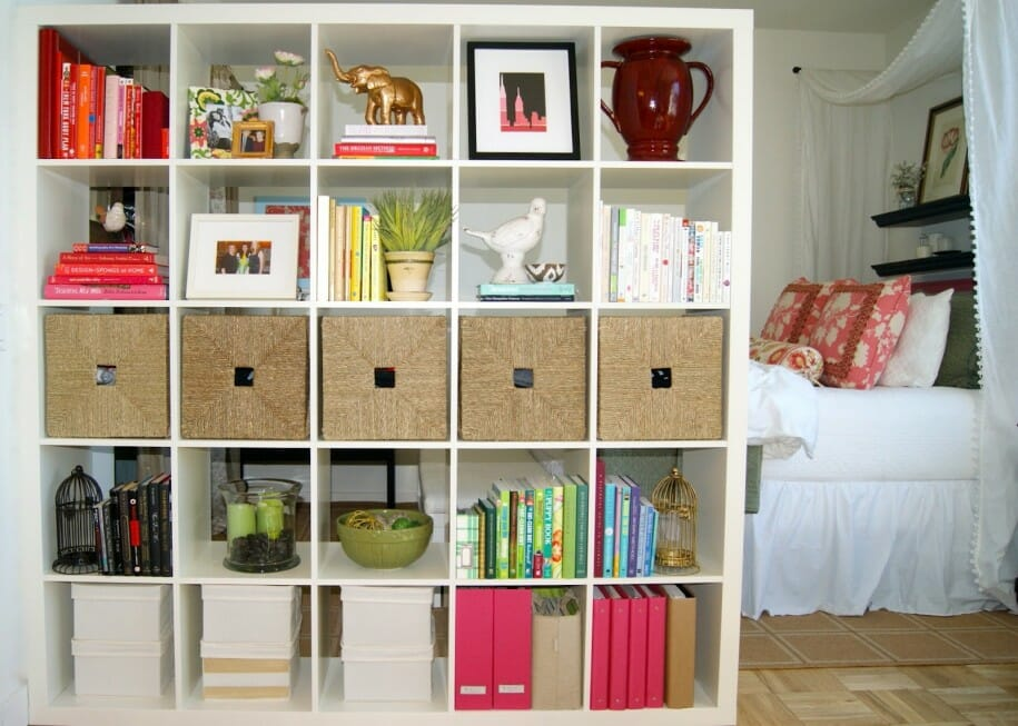 Room Separation Ideas Design Part - 30: Indoor-Plant-Small-Bird-Cages-Rattan-Decorations-Bookcase-