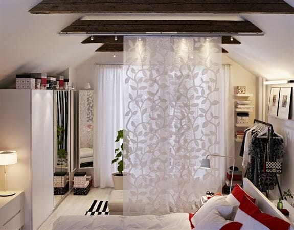 4 great room divider ideas decorilla - Ikea stores japonais ...
