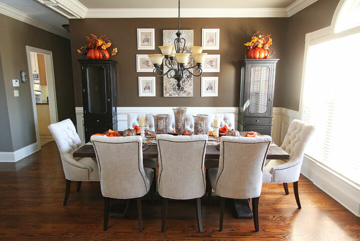 Top 5 thanksgiving decorations for your home decorilla for Dining room table ornaments