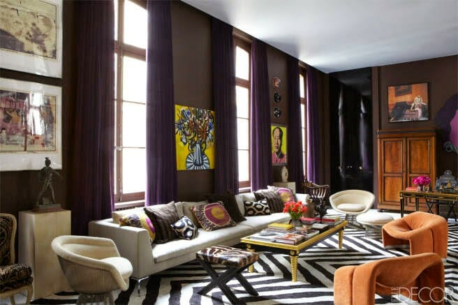 ... How To Find An Interior Designer For An Eclectic Style Living Room