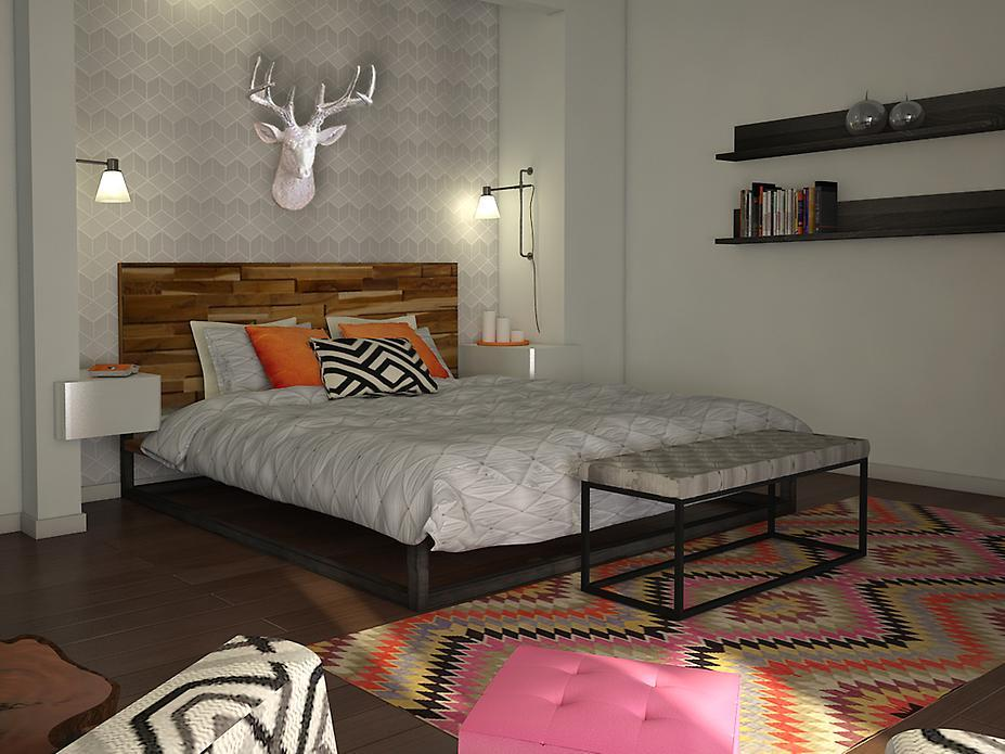 Aprils-fun-eclectic-bedroom-Christine-M-3DModel-1