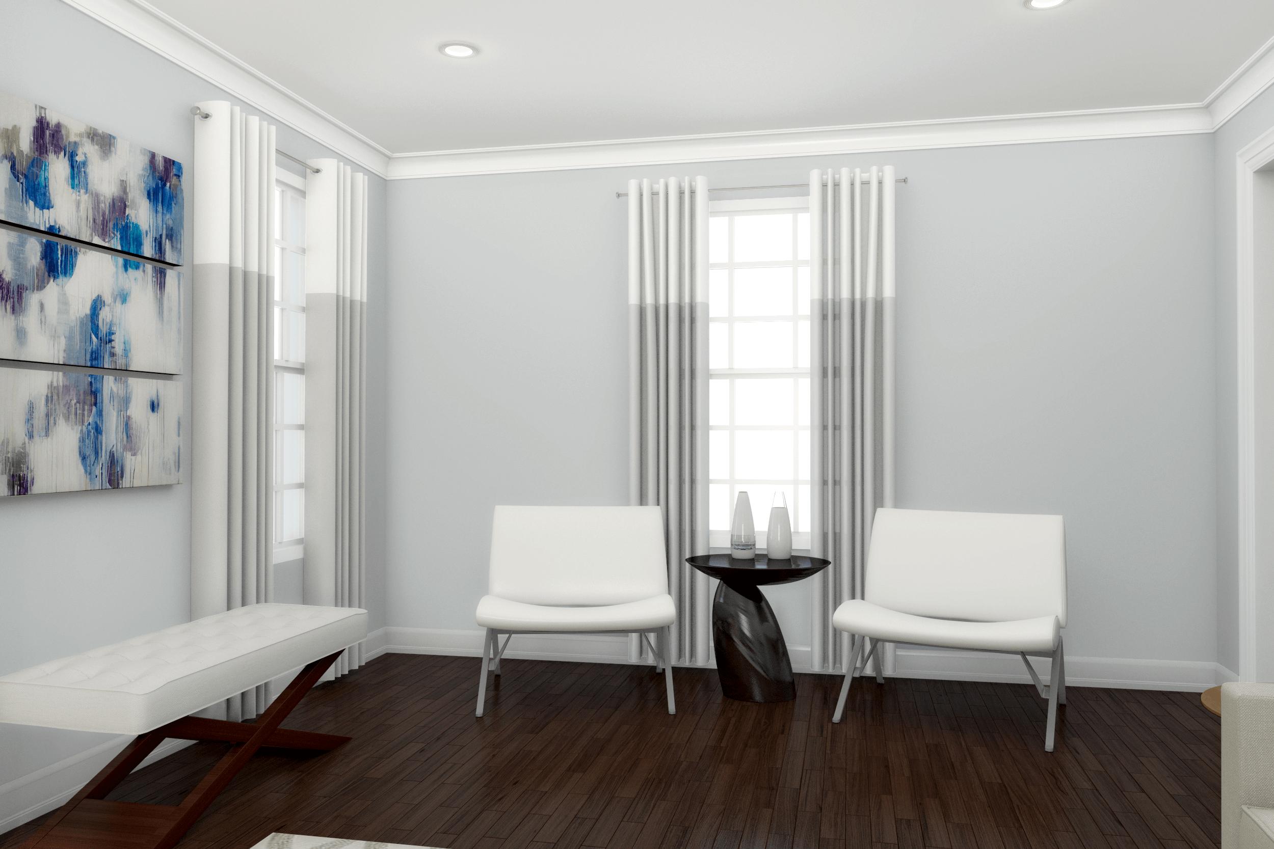 How to get a high-end contemporary living room design on a budget