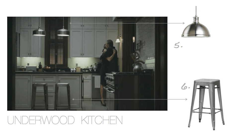 House of Cards Underwood Kitchen